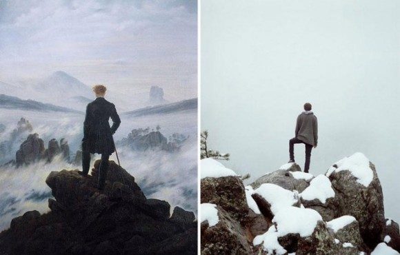 Wanderer above the Sea of Fog Remake