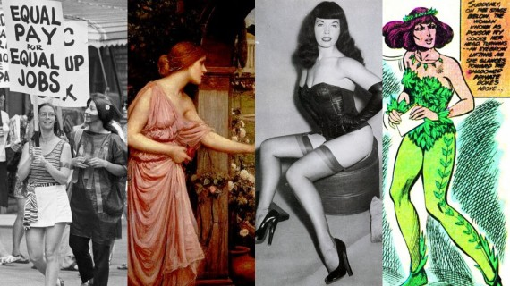 Feminist-Movement-Rappaccinis-Daughter-Bettie-Page-and-Poison-Ivy-570x320