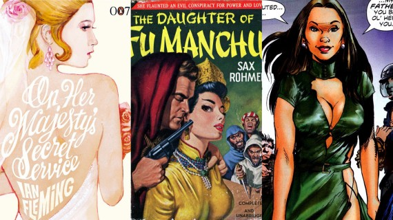 On-Her-Majestys-Secret-Service-Fu-Manchu-Novel-and-Talia-al-Ghul-570x320